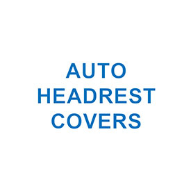 AUTO HEADREST COVERS
