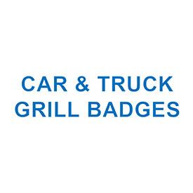 CAR & TRUCK GRILL BADGES