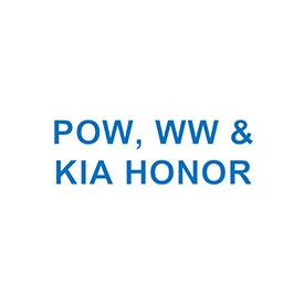 POW, WW & KIA HONOR